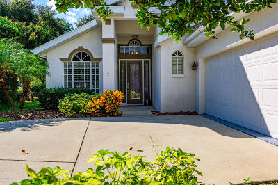 Volusia County Single Family Home For Sale: 1 Bay Gull Court