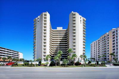 Daytona Beach Shores Condo/Townhouse For Sale: 2055 S Atlantic Avenue #1501