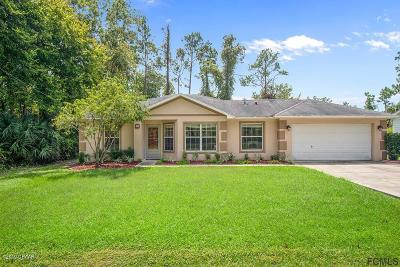 Palm Coast Single Family Home For Sale: 18 Lleberry Path