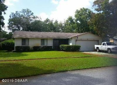Port Orange Single Family Home For Sale: 8 Oak Lane