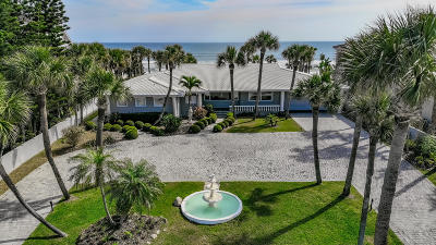 Volusia County Single Family Home For Sale: 637 Ocean Shore Boulevard