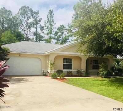 Palm Coast Single Family Home For Sale: 26 Rosecroft Lane