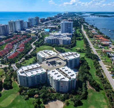 Daytona Beach Shores Condo/Townhouse For Sale: 4 Oceans West Blvd #101C