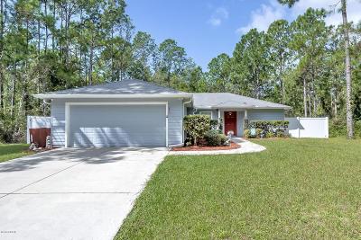 Palm Coast Single Family Home For Sale: 70 Underwood Trail