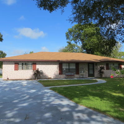 Volusia County Single Family Home For Sale: 215 Leisure Circle