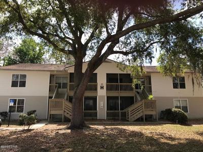 South Daytona Condo/Townhouse For Sale: 1600 Big Tree Road #H6