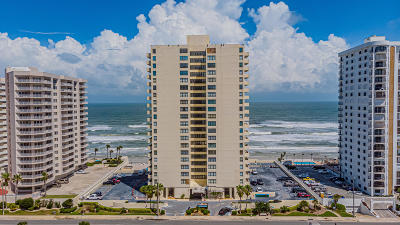 Daytona Beach Shores Condo/Townhouse For Sale: 2987 S Atlantic Avenue #1603