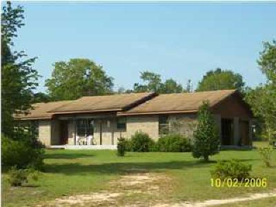 Defuniak Springs Single Family Home For Sale