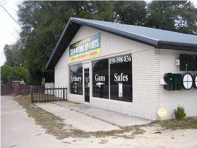 Crestview Commercial For Sale: 595 Ferdon Boulevard
