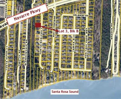 Navarre FL Residential Lots & Land For Sale: $129,000