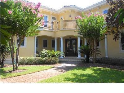 Miramar Beach Single Family Home For Sale: 3028 Club Drive