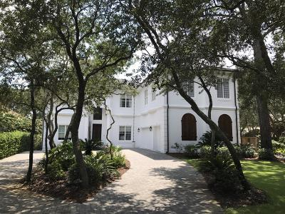 Santa Rosa Beach Single Family Home For Sale: 207 Bay Circle Drive