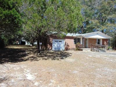 Defuniak Springs Single Family Home For Sale: 3505 E Us Highway 90