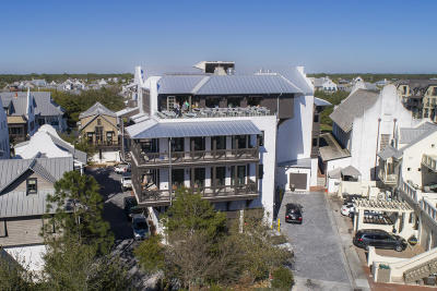 Rosemary Beach Condo/Townhouse For Sale: 74 Town Hall Road #Penthous