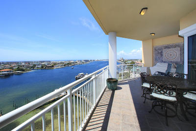 Destin Condo/Townhouse For Sale: 662 Harbor Boulevard #UNIT 810