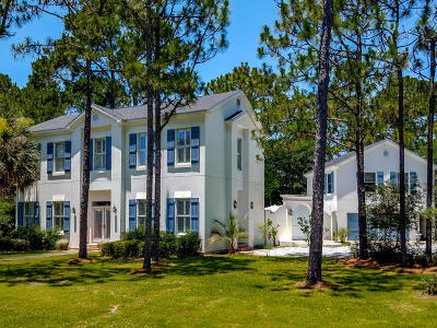 Santa Rosa Beach Single Family Home For Sale: 464 Wood Beach Drive