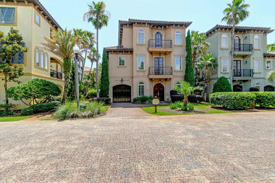 Miramar Beach Single Family Home For Sale: 96 Rue St Tropez