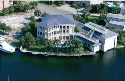 Holiday Isle Single Family Home For Sale: 500 Osceola Drive