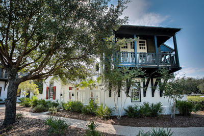 Rosemary Beach Single Family Home For Sale: 219 E Water Street