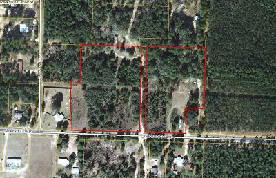 Defuniak Springs Residential Lots & Land For Sale: 9 Acres Sherwood Road