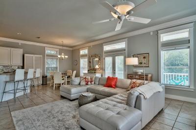 Santa Rosa Beach Single Family Home For Sale: 15 Beachwalk Lane