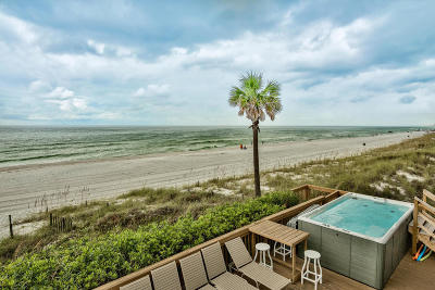 Panama City Beach, West Panama City Beach Single Family Home For Sale: 5427 Gulf Drive