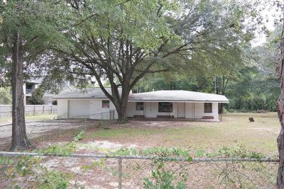 Defuniak Springs Single Family Home For Sale: 154 Shoemaker Drive