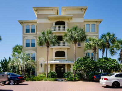 Panama City Beach Condo/Townhouse For Sale: 10140 E County Highway 30a #B101