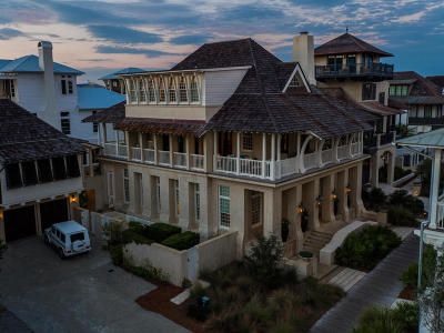 Rosemary Beach Single Family Home For Sale: 28 Spanish Town Court