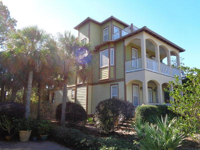 Santa Rosa Beach Single Family Home For Sale: 51 Old Mill Road