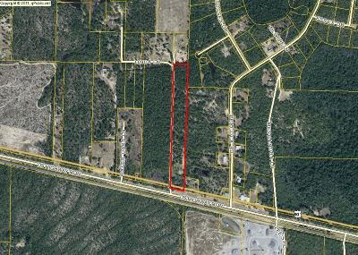Defuniak Springs Residential Lots & Land For Sale: 10AC 90 Highway