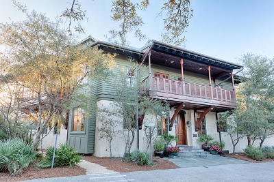 Rosemary Beach Single Family Home For Sale: 216 Round Road
