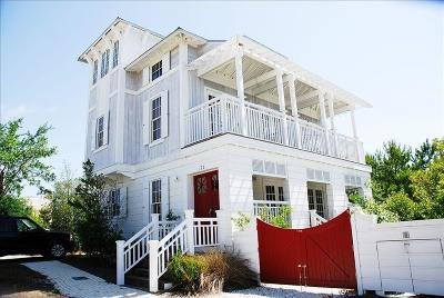 Rosemary Beach Single Family Home For Sale: 171 E Kingston Road