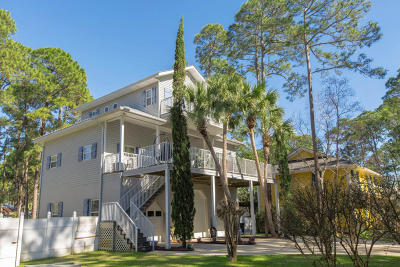 Santa Rosa Beach Single Family Home For Sale: 152 Oyster Lake Drive