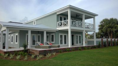 Panama City Beach, West Panama City Beach Single Family Home For Sale: 20804 Front Beach Road