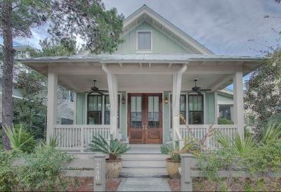Watercolor Single Family Home For Sale: 240 Needlerush Drive
