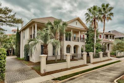 Miramar Beach Single Family Home For Sale: 129 Rue Martine