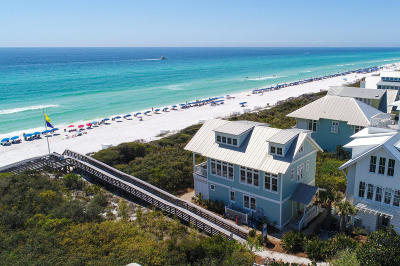 Alys Beach, Rosemary Beach, Santa Rosa Beach, Seacrest, Watersound Single Family Home For Sale: 1960 E Co Hwy 30a