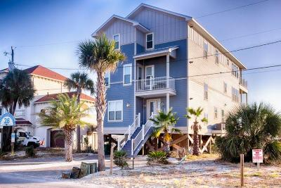 Panama City Beach, West Panama City Beach Single Family Home For Sale: 9708 Beach Boulevard