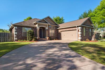 Crestview Single Family Home For Sale: 3069 Zach Avenue