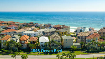 Destin Single Family Home For Sale: 4846 Ocean Boulevard