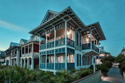Rosemary Beach Single Family Home For Sale: 10 E Spanish Town Court