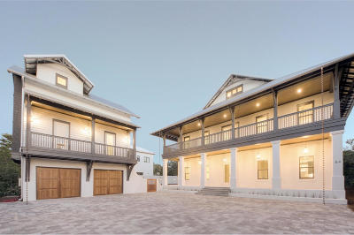 Inlet Beach Single Family Home For Sale: 2 Pinecrest Circle