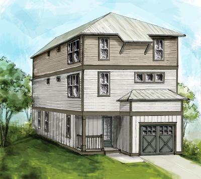 Santa Rosa Beach Single Family Home For Sale: Lot #8 W Claycin Cove