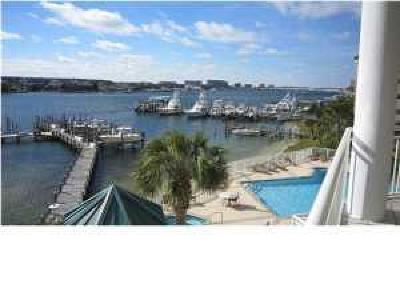 Destin Condo/Townhouse For Sale: 662 Harbor Boulevard #UNIT 230