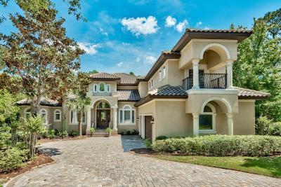 Destin FL Single Family Home For Sale: $995,000