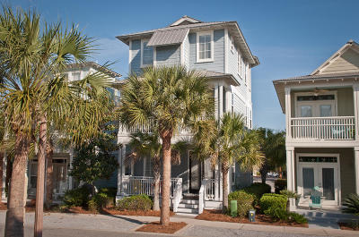Inlet Beach Single Family Home For Sale: 257 Beach Bike Way