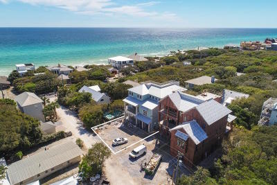 Seagrove Beach, Seagrove, Seagrove 1st Addn, Seagrove 3rd Add, Seagrove 3rd Addition, Seagrove 3rd Addn, Seagrove 5th Addn, Seagrove By The Sea I, Seagrove Highlands Single Family Home For Sale: 35 Camellia Street