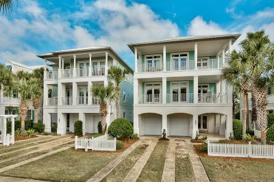 Miramar Beach Single Family Home For Sale: 1850,  1860 Scenic Gulf Drive