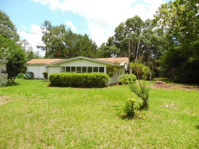Defuniak Springs Single Family Home For Sale: 199 Sherwood Road